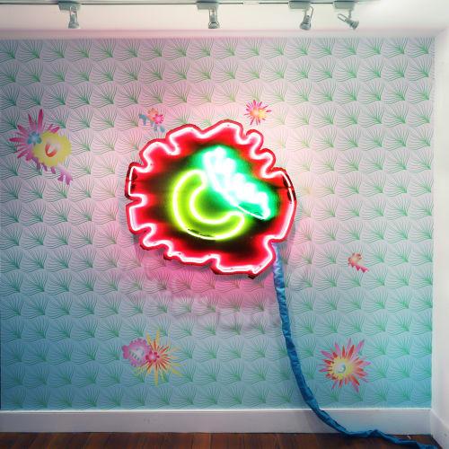 Aaron Pexa, Neon Poppy, 2020