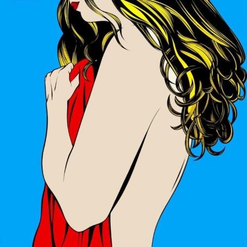 Deborah Azzopardi  Monday Morning, 2007  Limited Edition Silkscreen Print  110.5 x 110.5 cm 43 1/2 x 43 1/2 in.  Edition of 50