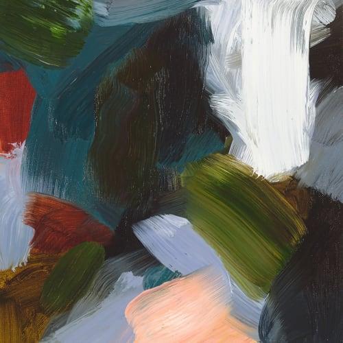 Elise Ansel  Revelations IX, 2016  Oil on Linen  45.7 x 35.6 cm 18 x 14 in.
