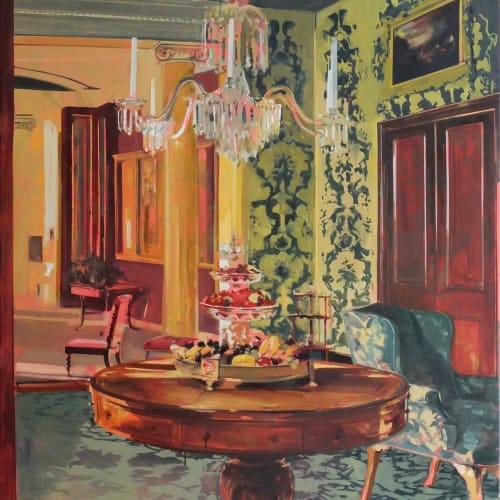 Eleanor Watson  Still, 2018  Oil on Canvas  130 x 110 cm  51 1/8 x 43 1/4 in.