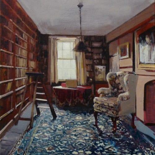 Eleanor Watson  Take, 2015  Oil on Canvas  50 x 40 cm  19 3/4 x 15 3/4 in.
