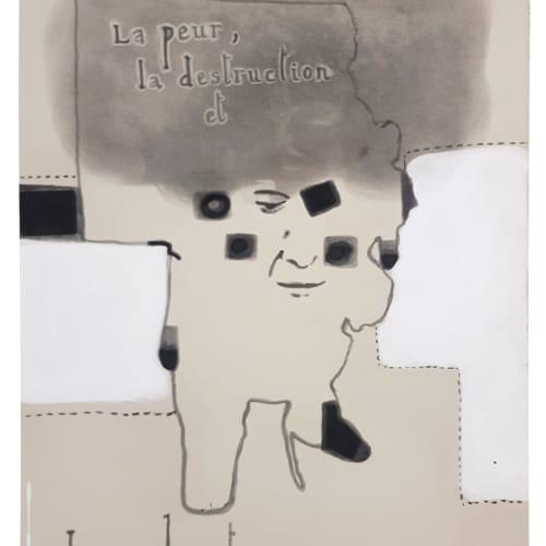Jean Michel ALBÉROLA, Sans titre (La peur, la destruction, et la bonté), 2012