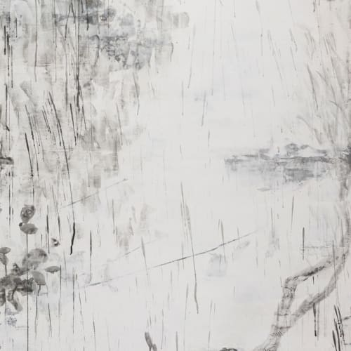 Yan Shanchun 嚴善錞, Beside the Lake No. 22 湖滨之二十二, 2016