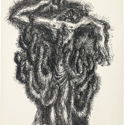 Syed Sadequain, After the Crucifixion I, 1966