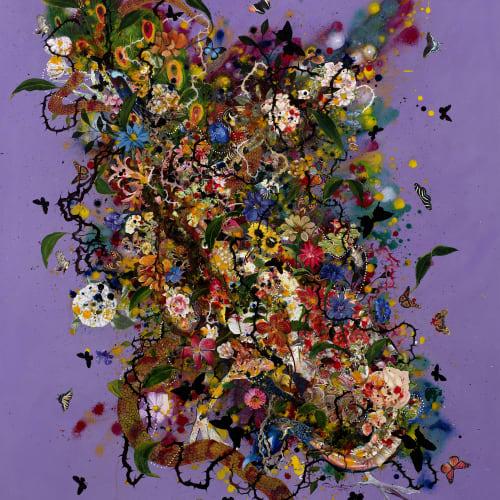 Priyantha Udagedara, Garden of Earthly Delight III, 2016