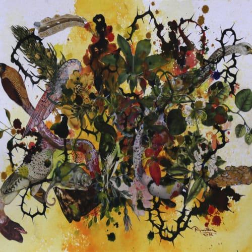 Priyantha Udagedara, Garden of Earthly Delight XI, 2016