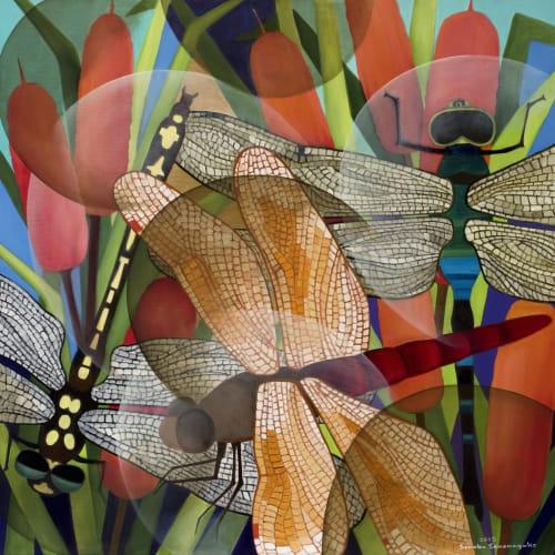 Senaka Senanayake, Dragonflies, 2017