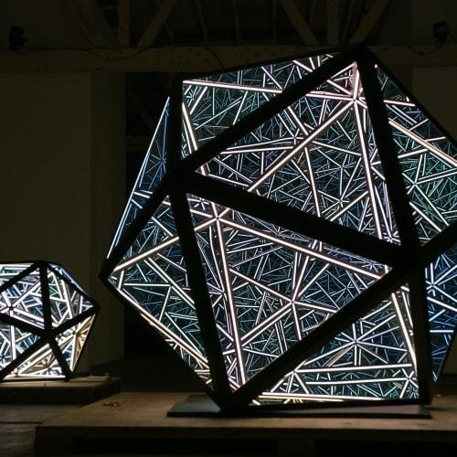 Anthony James, Portal Icosahedron, 2019