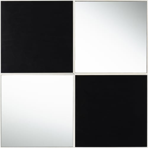Possible Mirror, Four Squares (after Malevich)
