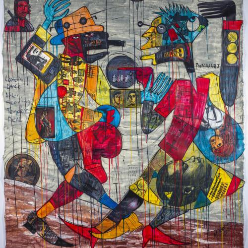 Blessing Ngobeni, Looters Dance, 2020