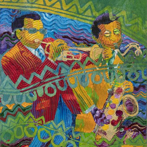Wadsworth Jarrell, Miles and Wayne, 1998
