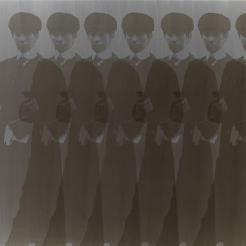 Deborah Kass, Seven Ghost Yentls (My Elvis), 1997