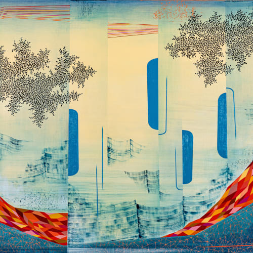 Gabe Brown, Fire Water Sky, 2021