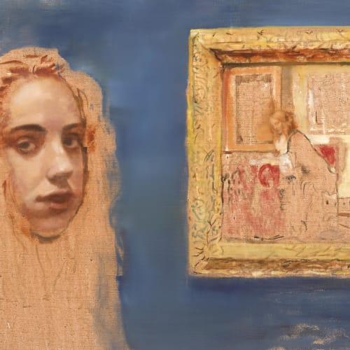 Margaret Corcoran, An Enquiry II- Therese and The Metsu, 2019