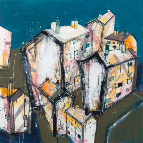"<span class=""artist""><strong>Robert McAulay</strong></span>, <span class=""title""><em>Revisiting the Estate 2</em>, 2020</span>"