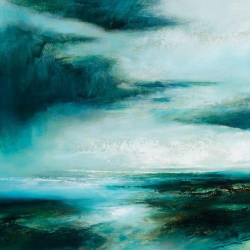 Kirstie Cohen  Distant Horizon, 2016  oil on board  45cm x 67cm