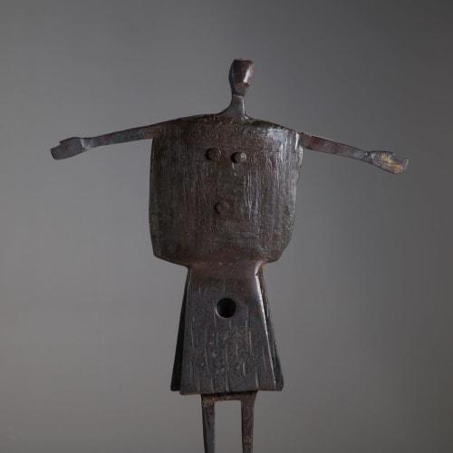 James Newton Adams  Ceilidh Man, 2019  mild steel  37cm (h) x 28cm x 10cm