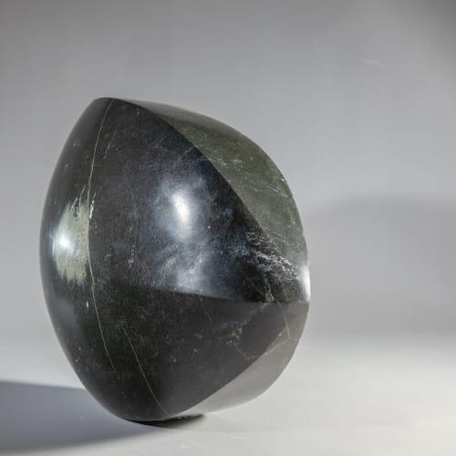 Steve Dilworth  Axe Head, 2020  harris stone  24cm high x 30cm x 11cm