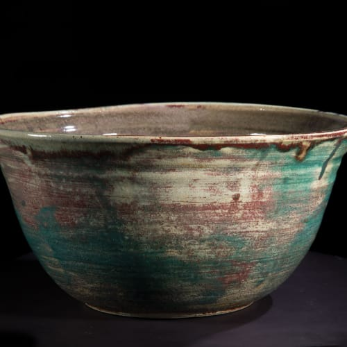 Lotte Glob  Bowl i, 2020  ceramic  37cm diameter x 17.5cm high
