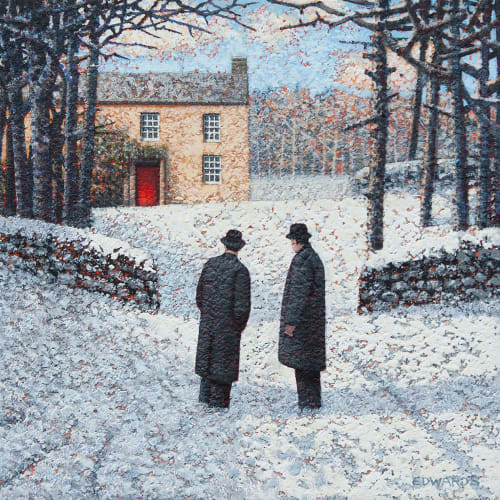 "<span class=""artist""><strong>Mark Edwards</strong></span>, <span class=""title""><em>The Other Red Door</em>, 2020</span>"