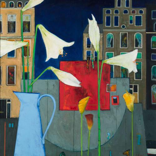 """<span class=""""artist""""><strong>Liz Knox</strong></span>, <span class=""""title""""><em>Een Perspectief van Amsterdam (an Ansterdam perspective)</em>, 2020</span>"""