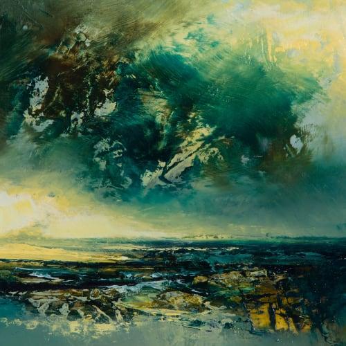 Kirstie Cohen  Landscape Study ii, 2018  oil on board  14cm x 20cm