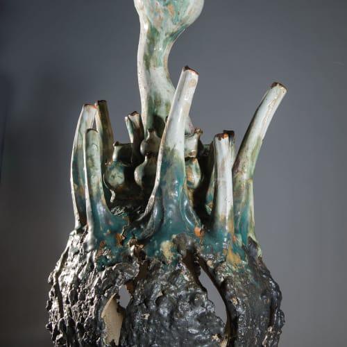 Lotte Glob  Out of the Sea  ceramics  81cm x 41cm x 41cm