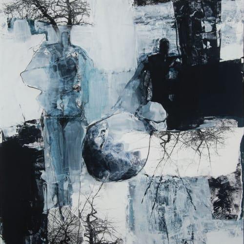 Kirstie Cohen  Figure IV, 2016  mixed media  70cm x 49cm