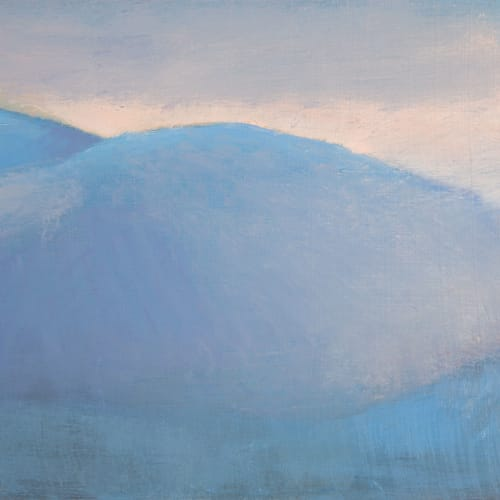 Jane MacNeill  Above Glen Feshie study, 2019  oil on board  30cm x 32cm framed