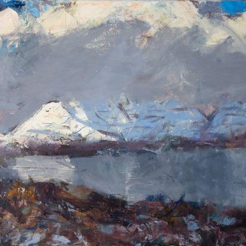 Allan MacDonald  Aligin, stage left  oil on canvas  60cm x 91cm