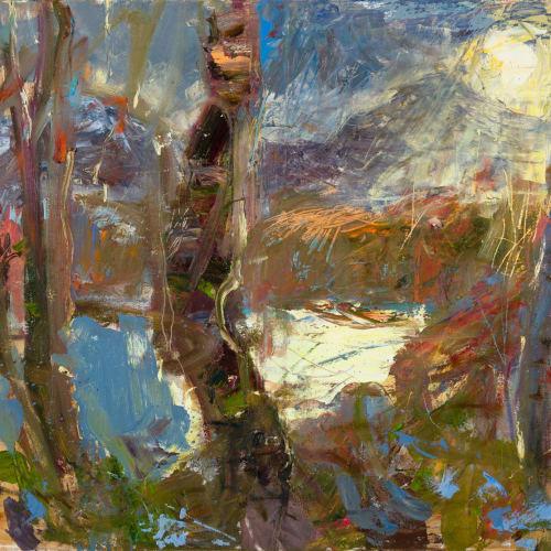 Allan MacDonald  The Speed of Light, 2020  oil on canvas  76 x 101 cm  29 7/8 x 39 3/4 in