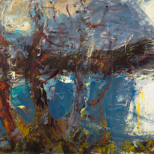 Allan MacDonald  moment, North West, 2020  oil on canvas  71 x 92 cm  28 x 36 1/4 in