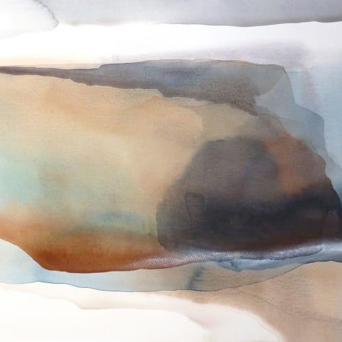 Peter Davis  North Hams  watercolour on paper  51cm x 70cm