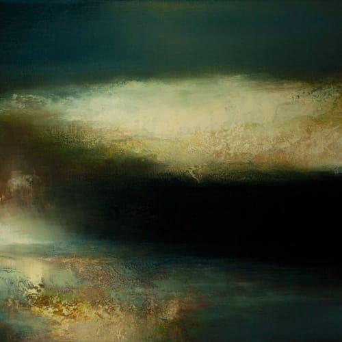 Kirstie Cohen  Reflections, 2016  oil on canvas  35cm x 80cm
