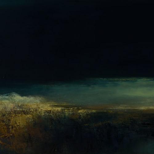Kirstie Cohen  Transition, 2018  oil on canvas  50cm x 120cm