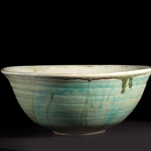 Lotte Glob  Bowl iii, 2020  ceramic  33.5cm diameter x 14cm high