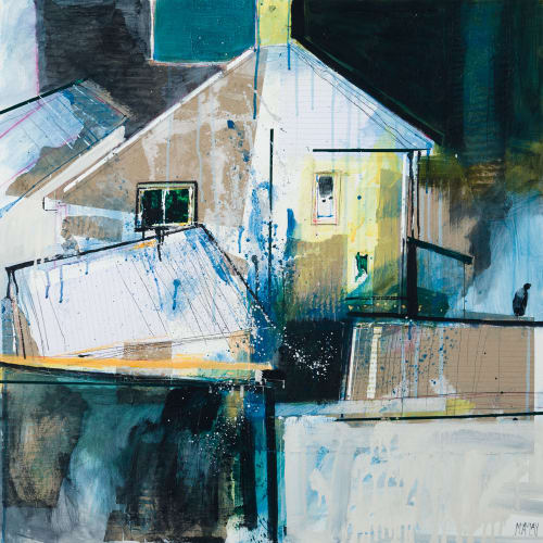 "<span class=""artist""><strong>Robert McAulay</strong></span>, <span class=""title""><em>Neighbour's House</em>, 2020</span>"