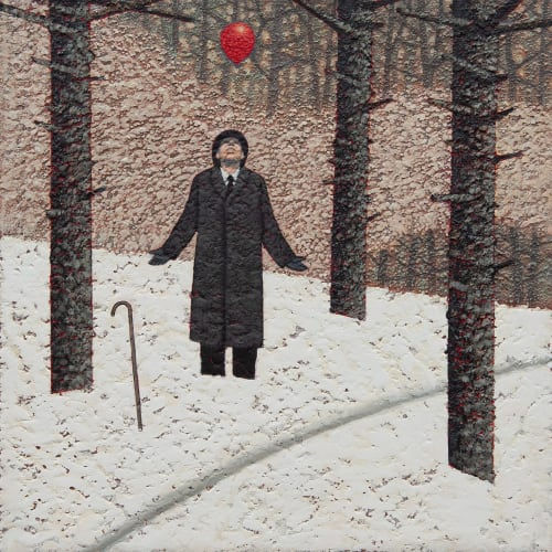 "<p><span class=""artist""><strong>Mark Edwards</strong></span>, <span class=""title""><em>The Balloon</em>, 2020</span></p>"