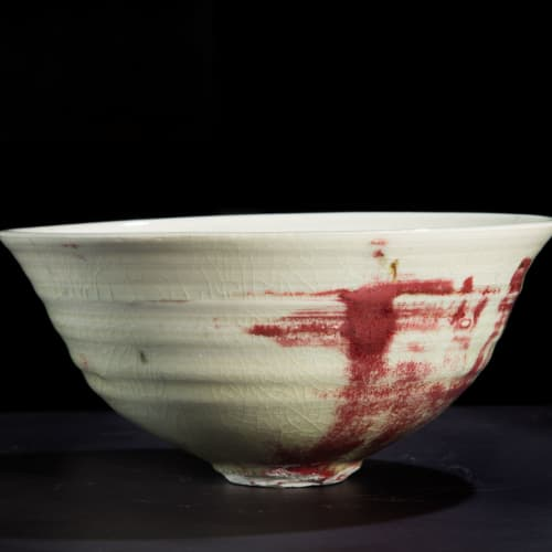 Lotte Glob  Bowl ix, 2020  ceramic  21cm diameter x 9.5cm high