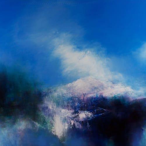 Kirstie Cohen  Blue Skies, 2016  oil on canvas  100cm x 120cm