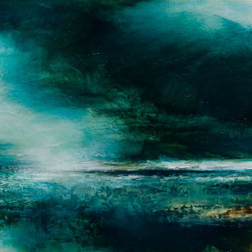 Kirstie Cohen  West Coast, 2018  oil on canvas  50cm x 70cm