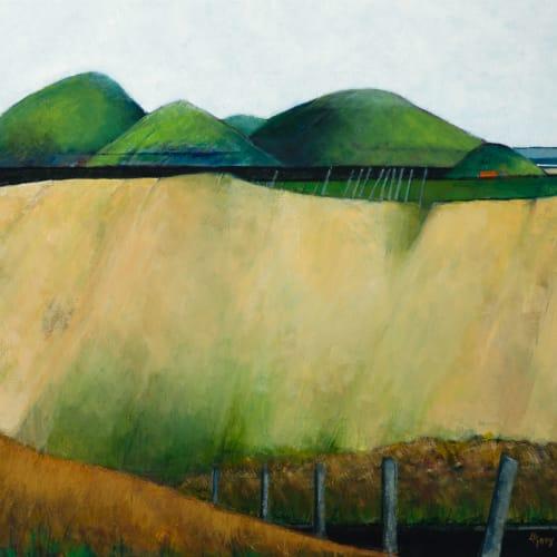 "<span class=""artist""><strong>Liz Knox</strong></span>, <span class=""title""><em>Achnaidhean Buidhe Sutherland (yellow fields Sutherland)</em>, 2020</span>"
