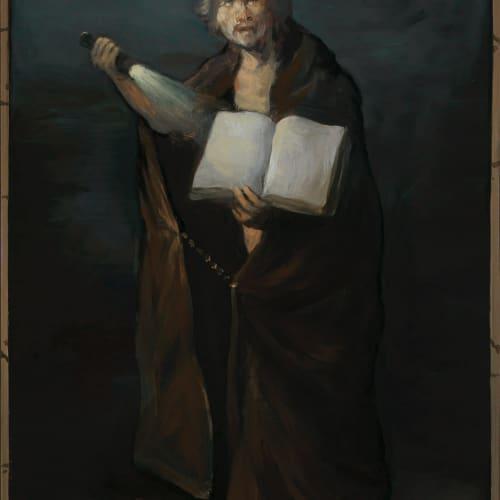 Alan Macdonald  The Prophet of Doom  oil on board  40.6 x 25.4 cm  16 x 10 in