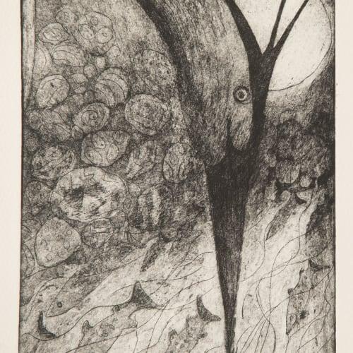Paul Bloomer  Haegri, 2019  etching  21cm x 15cm  Edition of 50 plus 1 artist's proof