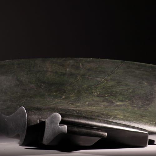 Illona Morrice  Breaking Wave  serpentine  10cm x 25cm x 23cm