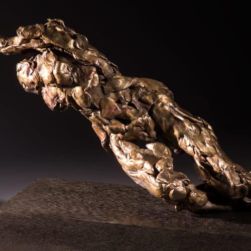 Alan McGowan  Rising Female- Astral Joy  bronze  22cm (high) x 30cm x 10cm  ed 1 of 25