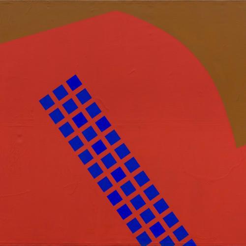 Mohamed Melehi, Sky Above Manhattan, 1963