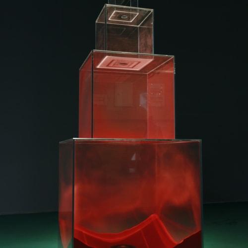 Tang Jie 湯杰, Dust in Red, 2015