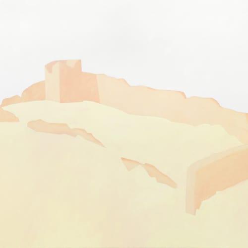 Manuel Stehli, Untitled (Large Fortress I), 2021