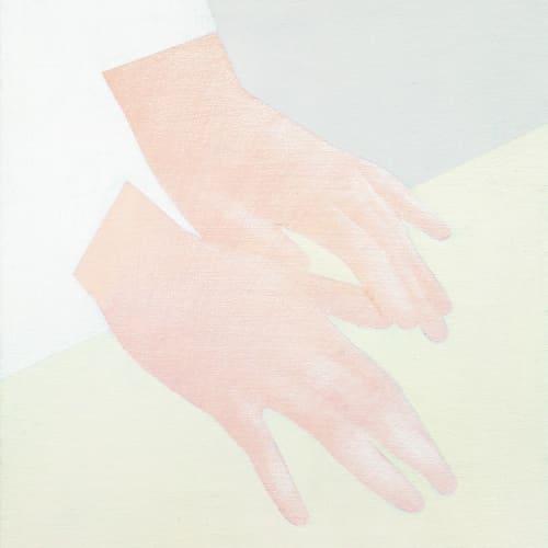 Manuel Stehli, Untitled (Pair of Hands 11), 2021